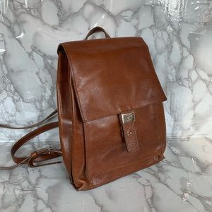 Calvin Klein Leather Backpack